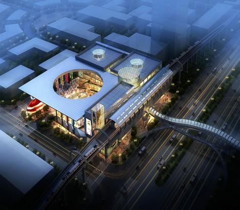 Beijing Changyang Metro Station Master Planning