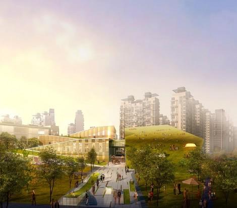 Changchun Jingyue District Cultural and Recreational Industry Park Conceptual Urban Design