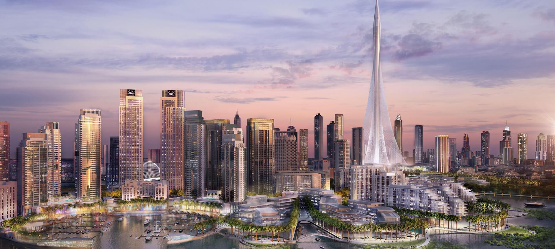 Dubai creek harbour callisonrtkl for Nearest hotel to dubai design district