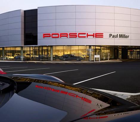Paul Miller Porsche