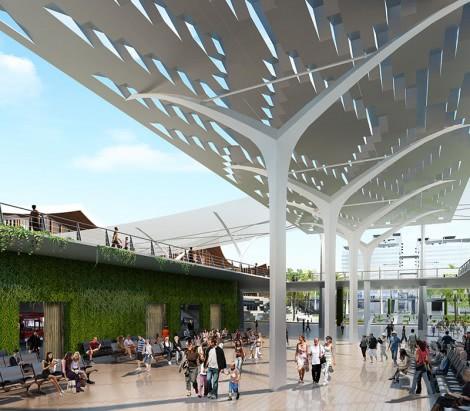 Sanya Railway Station Area