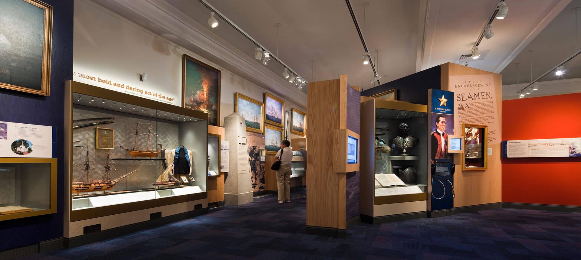 U.S. Naval Academy: Preble Hall Museum - CallisonRTKL