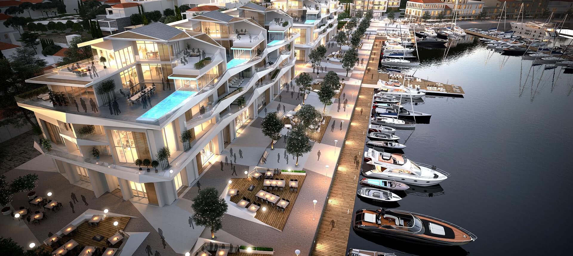 Awesome Portonovi Marina Apartments