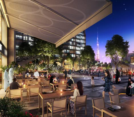 Dubai Hills Master Plan