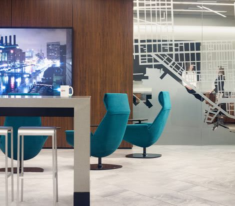 JLL Baltimore Office Interior Design