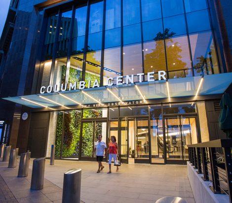 Columbia Center Podium Remodel