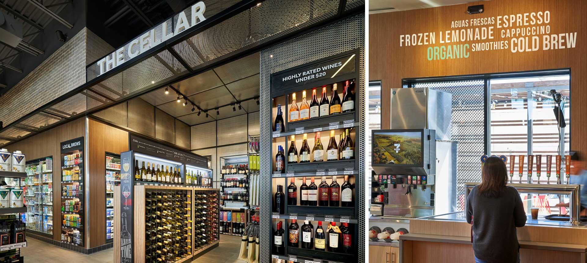 7-Eleven Lab Store Wine Cellar