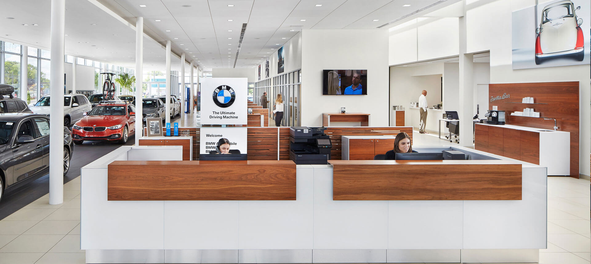 Habberstad BMW Huntington Station, New York Front Desk