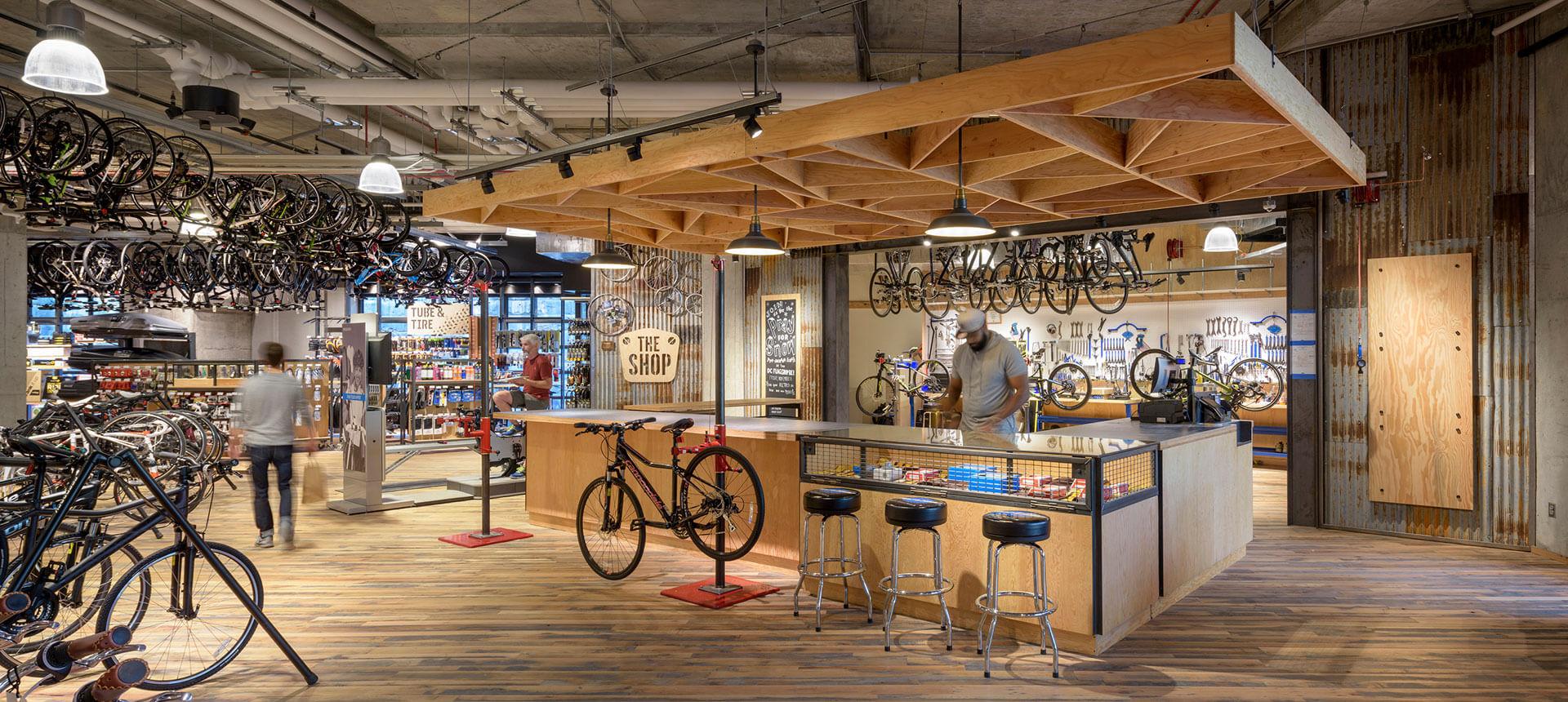 REI DC Bike Shop