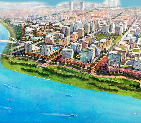 Hanoi Red River Urban Development