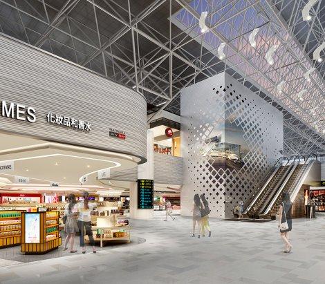 Taiwan Taoyuan Airport, Terminal 2 Concept Design