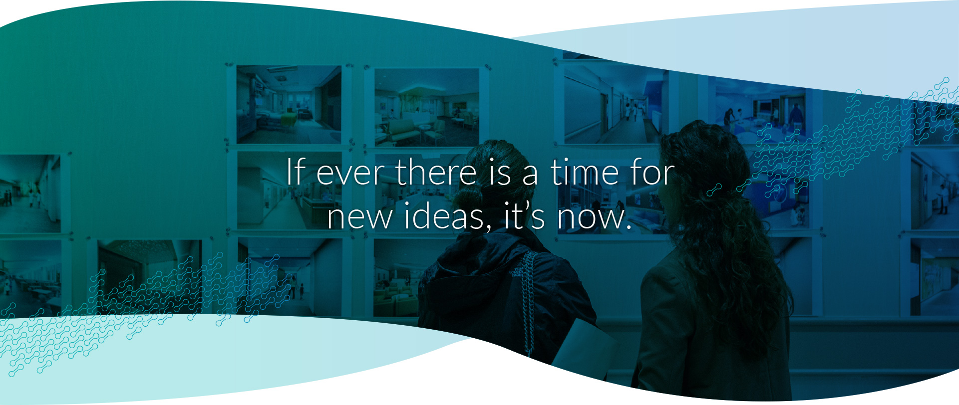 If ever there is a time for new ideas, it's now.